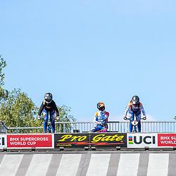 05-05-2020: Wielrennen: BMX KNWU: Papendal  <br /> De Nederlandse BMX toppers werkten vandaag hun eerste training af na de lockdown op Papendal