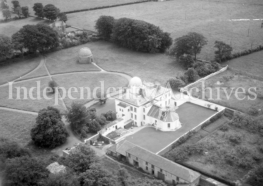 A188 Dunsink.   27/06/58. (Part of the Independent Newspapers Ireland/NLI collection.)<br /> <br /> <br /> These aerial views of Ireland from the Morgan Collection were taken during the mid-1950's, comprising medium and low altitude black-and-white birds-eye views of places and events, many of which were commissioned by clients. From 1951 to 1958 a different aerial picture was published each Friday in the Irish Independent in a series called, 'Views from the Air'.
