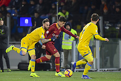 February 23, 2019 - Plzen, CZ - Foto Fabio Rossi/AS Roma/LaPresse.12/12/2018 Plzen (CZ).Sport Calcio.Viktoria Plzen - Roma .Champions League 2018/2019 - Doosan Arena.Nella foto: Diego Perotti...Photo Fabio Rossi/AS Roma/LaPresse.12/12/2018 Plzen (CZ).Sport Soccer.Viktoria Plzen - Roma .Champions League 2018/2019 2018/2019 - Doosan Arena.In the pic: Diego Perotti (Credit Image: © Fabio Rossi/Lapresse via ZUMA Press)