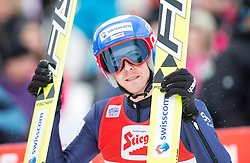 18.01.2015, Casino Arena, Seefeld, AUT, FIS Weltcup Nordische Kombination, Seefeld Triple, Skisprung, im Bild Tim Hug (SUI) // Tim Hug of Switzerland during Skijumping of the FIS Nordic Combined World Cup, Seefeld Triple at the Casino Arena in Seefeld, Austria on 2015/01/18. EXPA Pictures © 2015, PhotoCredit: EXPA/ JFK