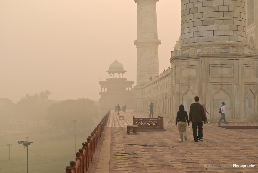 Morning visit to the Taj Mahal in Agra, Uttar Pradesh, India