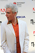 David Byrne at the 11th Annual Webby Awards  held at Cipriani's Downtown on June 10, 2008