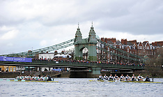 London: The Boat Race - 27 March 2016