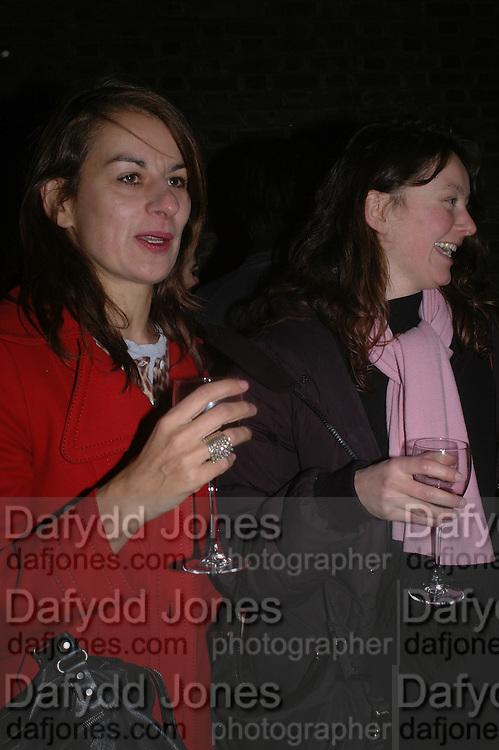 Rebecca Warren, Martin Kippenberger, Tate Modern. 7 Febriuary 2006. -DO NOT ARCHIVE-© Copyright Photograph by Dafydd Jones 66 Stockwell Park Rd. London SW9 0DA Tel 020 7733 0108 www.dafjones.com