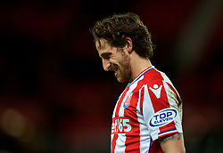 STOKE-ON-TRENT, ENGLAND - Wednesday, November 29, 2017: Stoke City's Joe Allen during the FA Premier League match between Stoke City and Liverpool at the  Bet365 Stadium. (Pic by David Rawcliffe/Propaganda)