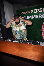 DJ Khaled and Pepsi promote the launch of #Summergram in New York City.