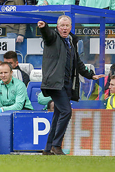 March 9, 2019 - London, England, United Kingdom - Queens Park Rangers manager Steve McClaren instructs the team during the second half of the Sky Bet Championship match between Queens Park Rangers and Stoke City at Loftus Road Stadium, London on Saturday 9th March 2019. (Credit Image: © Mi News/NurPhoto via ZUMA Press)