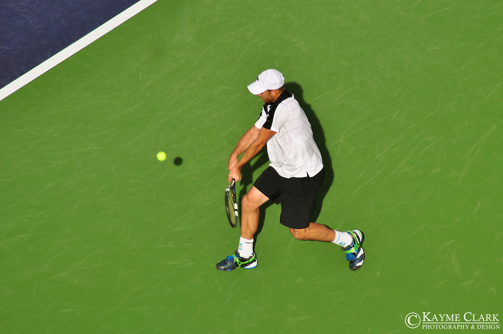 Andy Roddick, United States of America, ATP Player, BNP Paribas Open Tennis Tournament, Indian Wells Tennis Garden, Indian Wells, California, United States