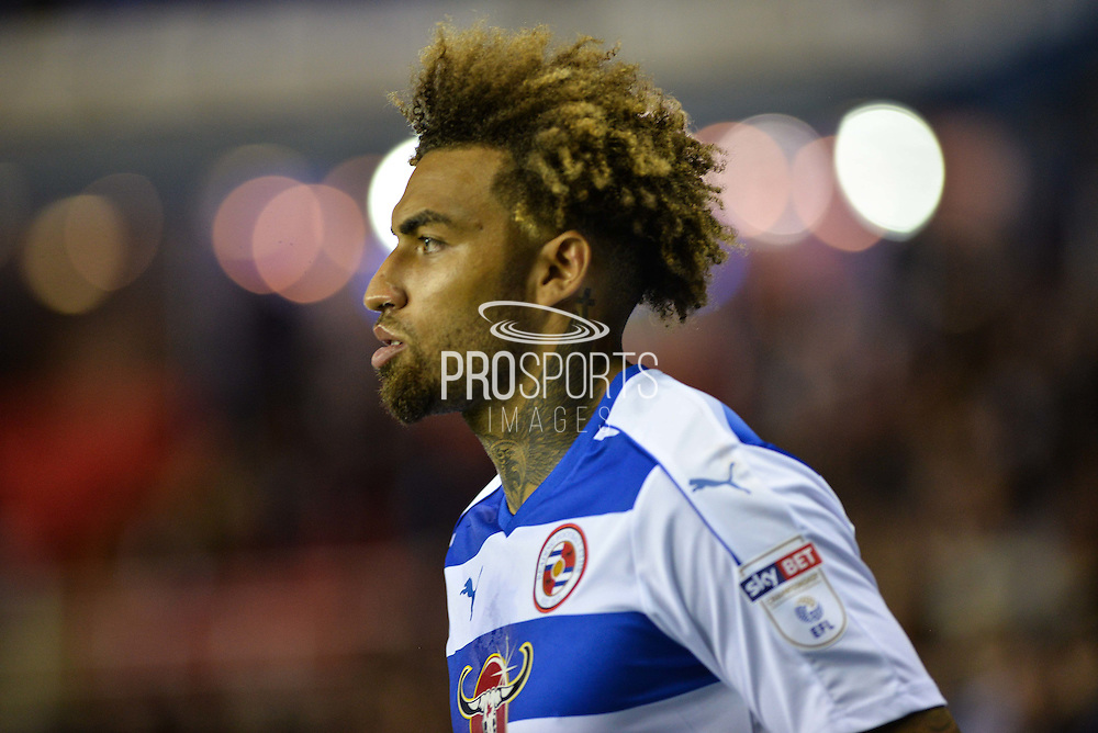 Reading Midfielder, Danny Williams (23) during the EFL Sky Bet Championship match between Reading and Ipswich Town at the Madejski Stadium, Reading, England on 9 September 2016. Photo by Adam Rivers.