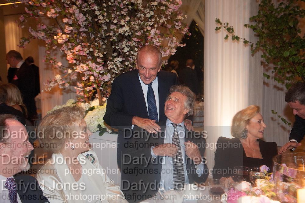 PRINCESS MICHAEL OF KENT; ARNAUD BAMBERGER The Cartier Chelsea Flower show dinner. Hurlingham club, London. 20 May 2013.