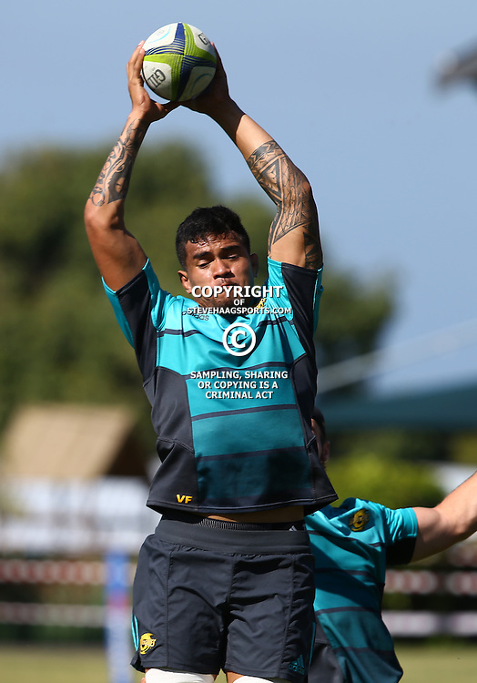 DURBAN, SOUTH AFRICA, 3, May 2016 - Vaea Fifita during the Hurricanes training session held at Northwood School Durban North , (Photographer Steve Haag) <br /> <br /> Images for social media must have consent from Steve Haag