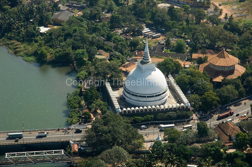 The Kalutara stupa.