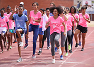 CAPE TOWN, SOUTH AFRICA - MARCH 10: Traci-lee Hendricks of Portlands High Schools during the TrackGirlz events at University of Western Cape on March 10, 2018 in Cape Town, South Africa. (Photo by Roger Sedres/ImageSA)