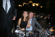 HENRIETTA CONRAD AND NICK JONES, Dinner given by Established and Sons to celebrate Elevating Design.  P3 Space. University of Westminster, 35 Marylebone Rd. London NW1. -DO NOT ARCHIVE-© Copyright Photograph by Dafydd Jones. 248 Clapham Rd. London SW9 0PZ. Tel 0207 820 0771. www.dafjones.com.
