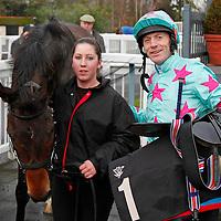 Novellen Lad and Kieren Fallon in the winners enclosure