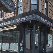 BARRACA Spainish restaurant forced to close after 20 years, serving Sangrias, Tapas  and Paella  in the West Village. Closed in December due to increasing rent hoping to  relocate for a better lease rates and terms.