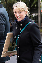 © Licensed to London News Pictures. 16/11/2019. London, UK. Shadow Secretary of State for Business, Energy and Industrial Strategy Rebecca Long-Bailey arrives for a Labour NEC meeting at Savoy Place.  Photo credit: George Cracknell Wright/LNP