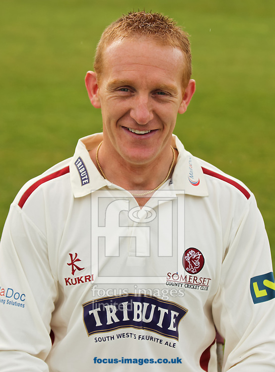 Steve Kirby pictured during Somerset County Cricket Club media day at the County Ground, Taunton, Taunton<br /> Picture by Tom Smith/Focus Images Ltd 07545141164<br /> 31/03/2014