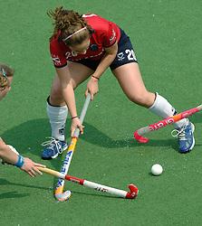 07-05-2006 HOCKEY: KAMPONG - LAREN: UTRECHT<br /> De vrouwen van hockeyvereniging Kampong hebben vanmiddag met 3 - 5 verloren van Laren / Helen Bell<br /> ©2006-WWW.FOTOHOOGENDOORN.NL