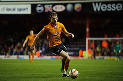 Wolves Forward Bjorn Bergmann Sigurdarson (ISL) in action during the second half of the match - Photo mandatory by-line: Rogan Thomson/JMP - Tel: Mobile: 07966 386802 01/12/2012 - SPORT - FOOTBALL - Ashton Gate - Bristol. Bristol City v Wolverhampton Wanderers - npower Championship.