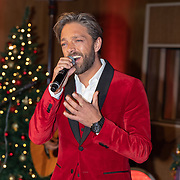 NLD/Hilversum/20181002 - Artiesten Holland zingt Kerst 2018, Karin Bloemen, Lee Towers, Tommie Christiaan