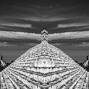 Uxmal # 8         Templo del Adivino. Uxmal. Yucatan, Mexico.