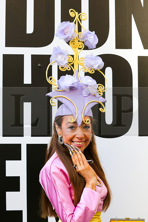 © Licensed to London News Pictures. 13/09/2019. London, UK. Tracy Rose, Fashion Fabulous London, arrives on day 1 of the London Fashion Week - spring/summer collection fashion shows at 180 Strand. Photo credit: Dinendra Haria/LNP