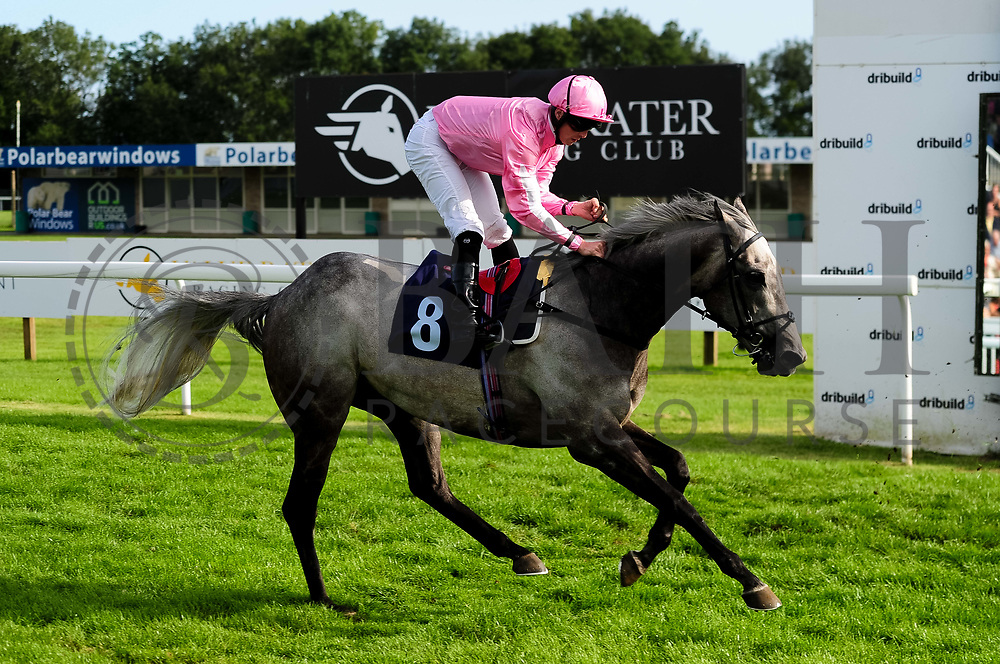 George Dryden ridden by Jack Mitchell and trained by George Boughey in the University And Literary Club Veterans' Handicap race. - Ryan Hiscott/JMP - 21/08/2019 - PR - Bath Racecourse - Bath, England - Race Meeting at Bath Racecourse