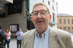 London, June 11th 2017. General Secretary of Unite The Union Len McCluskey arrives at Broadcasting house in London.