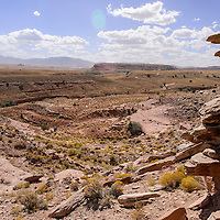Red Valley contains numerous uranium mine sites and is the focus the Navajo Abandon Mine Land Reclamation project.