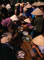 Fishmarket in Mui Ne, Vietnam
