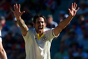 MITCHELL JOHNSON - Action from the 2nd Ashes Test Match played at Adelaide Oval, Adelaide, South Australia, Friday, December 6th 2013. [Photo: Ryan Schembri - SMP Images] Use information: This image is intended for Editorial use only (e.g. news or commentary, print or electronic). Any commercial or promotional use requires additional clearance.