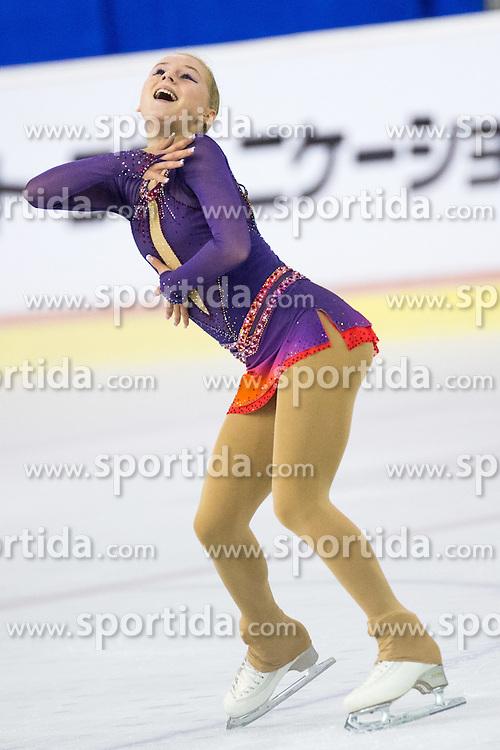 Serafima SAKHANOVICH of Russia at ISU Junior Grand Prix of Figure Skating Ljubljana Cup 2014 on August 29, 2014 in Hala Tivoli, Ljubljana, Slovenia. Photo by Matic Klansek Velej / Sportida