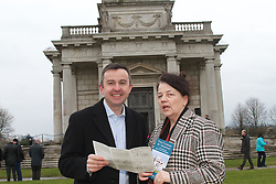 Minister Hayes to open exciting new Exhibition in the Casino at Marino..Minister of State Brian Hayes, TD, with special responsibility for the Office of Public Works will officially open the 'Absent Architect' exhibition on Saturday 23 March at 2.30pm...Paris-based Irish artists Cleary & Connolly, best known for their critically acclaimed exhibition at the Pompidou Centre in 2009, have created 3 new interactive artworks for the building, to be exhibited at the Casino from March 2013. This new series of works, titled ?The Absent Architect?, sends you back in time to visit the studio of architect Sir William Chambers (played by Pat Shortt), as he discusses details of the building with his client James Caulfeild, the 1st earl of Charlemont. The title of the exhibition reveals the historical reality behind the imagined scenes depicted - despite creating important buildings here, William Chambers never actually visited Ireland, and designed his buildings by correspondence from his studio in London. ..Pictured at the Launch were:.Anne Cleary and Denis Connolly.Denis Carr - Director of BMS , OPW.Minister Brian Hayes Minister of State with special responsibility for OPW.Oliver Dowling, Art Curator...The Minister said, ?I'm delighted to be here today to open this truly unique exhibition, created by world-renowned artists Cleary & Connolly. What a fitting tribute to one of my office's most stunning heritage sites, to have such a groundbreaking visual treat on display. I'm also pleased to see the new entrance to the Casino, which was constructed in association with Dublin City Council and which does justice to the importance of this site.?..'Absent Architect' integrates cutting-edge contemporary art and innovative new media into one of our finest national heritage sites. It is funded through the Engaging With Architecture Scheme ? a joint initiative from The Arts Council and the Department of Arts, Heritage and the Gaeltacht under the auspices of the Government Policy on Archi