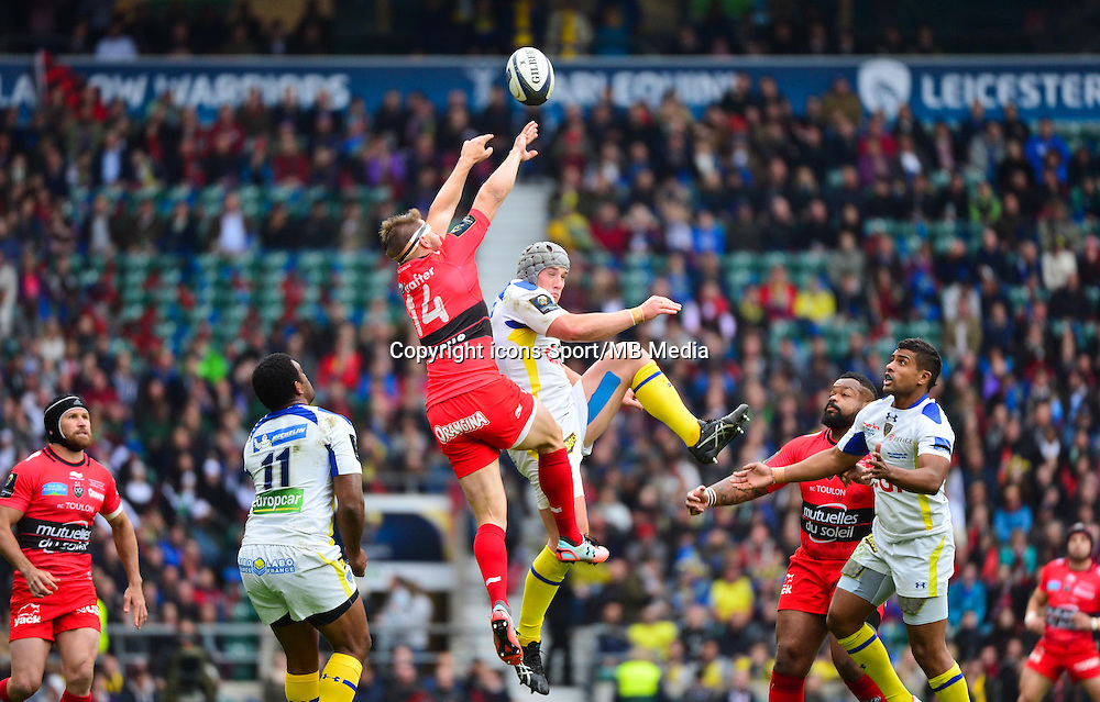 Drew MITCHELL / Jonathan DAVIES - 02.05.2015 - Clermont / Toulon - Finale European Champions Cup -Twickenham<br />