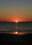 Jekyll Island Sunrise, sunset over the sea