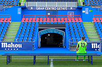Getafe CF's Vicente Guaita waiting the session of the official photo of the first team squad for the 2017/2018 season. September 19,2017. (ALTERPHOTOS/Acero)