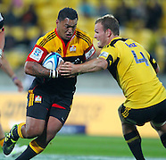 Rugby - S15 Hurricanes v Chiefs