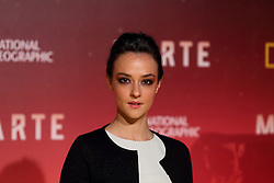November 8, 2016 - Roma, RM, Italy - Italian actress Marta Gastini during Red Carpet of the premier of Mars, the largest production ever made by National Geographic (Credit Image: © Matteo Nardone/Pacific Press via ZUMA Wire)