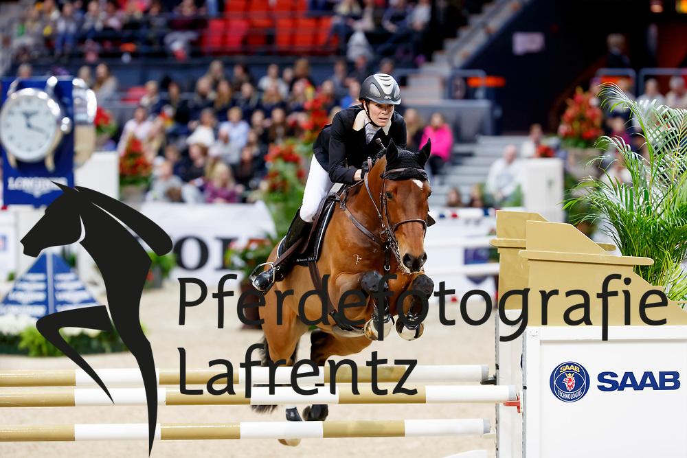 Dahlqvist, Renee (SWE) Desire<br /> Göteborg - Gothenburg Horse Show FEI World Cups 2017<br /> © Stefan Lafrentz