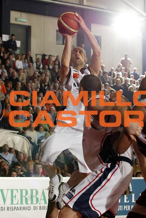 DESCRIZIONE : Biella Lega A1 2006-07 Angelico Biella TDShop Livorno<br />GIOCATORE : Roller<br />SQUADRA : Angelico Biella<br />EVENTO : Campionato Lega A1 2006-2007<br />GARA : Angelico Biella TDShop Livorno<br />DATA : 13/01/2007<br />CATEGORIA : Tiro<br />SPORT : Pallacanestro<br />AUTORE : Agenzia Ciamillo-Castoria/E.Pozzo<br />Galleria : Lega Basket A1 2006-2007<br />Fotonotizia : Biella Campionato Italiano Lega A1 2006-2007 Angelico Biella <br />TDShop Livorno<br />Predefinita :