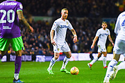 Adam Forshaw of Leeds United (4) looks to play a pass during the EFL Sky Bet Championship match between Leeds United and Bristol City at Elland Road, Leeds, England on 24 November 2018.