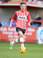 Exeter City's Tom Nichols - Photo mandatory by-line: Alex James/JMP - Mobile: 07966 386802 - 10/01/2015 - SPORT - football - Exeter - St James Park - Exeter City v Northampton - Sky Bet League Two