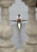 Boston, USA, Club men's  Men's Singles.  Oli Rosenbladt, Head of the Charles, Race Charles River,  Cambridge,  Massachusetts. Sunday  20/10/2007  [Mandatory Credit Peter Spurrier/Intersport Images]..... , Rowing Course; Charles River. Boston. USA