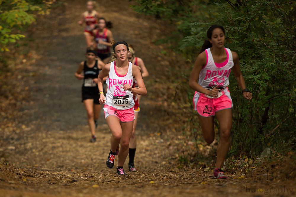 Rowan University Claire Corbett - Collegiate Track Conference  Cross-Country Women's Championship at Gloucester County College in Sewell, NJ on Saturday October 19, 2013. (photo / Mat Boyle)