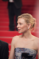 Actress Cate Blanchett at the gala screening for the film Carol at the 68th Cannes Film Festival, Sunday May 17th 2015, Cannes, France.