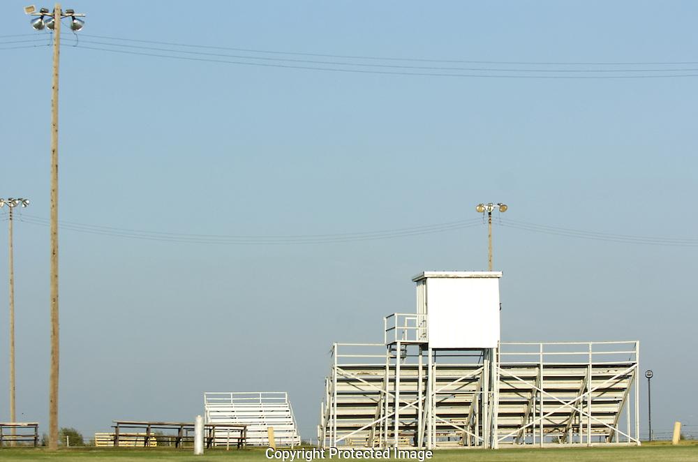 Football stadium in Cotton Center, Texas