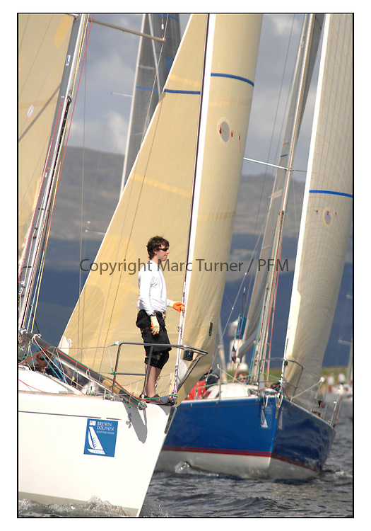 The Brewin Dolphin Scottish Series, Tarbert Loch Fyne..GBR6969T Grand Cru CCC/RNCYC First 40.7