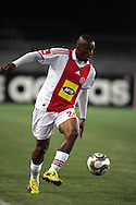 Franklin Cale during the PSL match between Ajax Cape Town and Moroka Swallows held at Newlands Stadium in Cape Town, South Africa on 28 October 2009..Photo by Ron Gaunt/SPORTZPICS