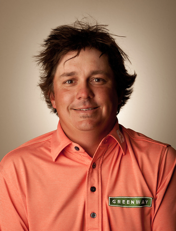 Professional golfer Jason Dufner, photographed in Fort Worth, Texas.